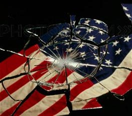 Broken flag