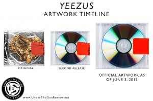 YEEZUS Album Covers