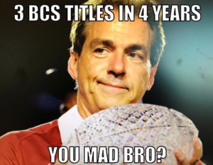 3 BCS Titles in 4 Years