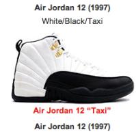 Air Jordan 12 %22Taxi%22