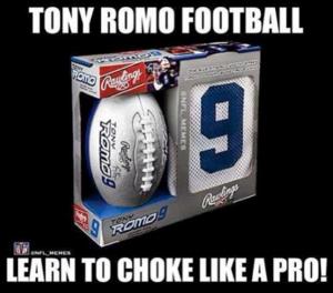 Choke Like Romo