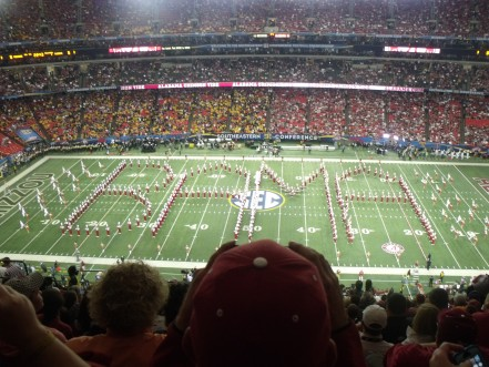 2014 SEC Championship Game at The Georgia Dome in Atlanta, Georgia